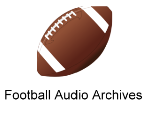 Football Audio Archives