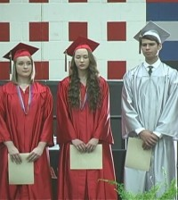 SOUTH HARDIN GRADUATION SHOT